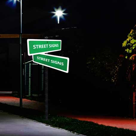Reflective Custom Street Signs